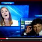 Video – Leonardo in diretta su Sky chiede ad Anna Billò di sposarlo