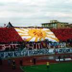 Calcio, a Livorno fischiato il minuto di silenzio
