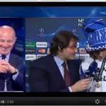Video – Esilarante David Luiz! Ubriaco in diretta su Premium dice a Sacchi: Pelato!