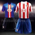 Calcio Estero: presentata in anteprima la nuova maglia 2010/2011 dell'Atletico Madrid – Foto