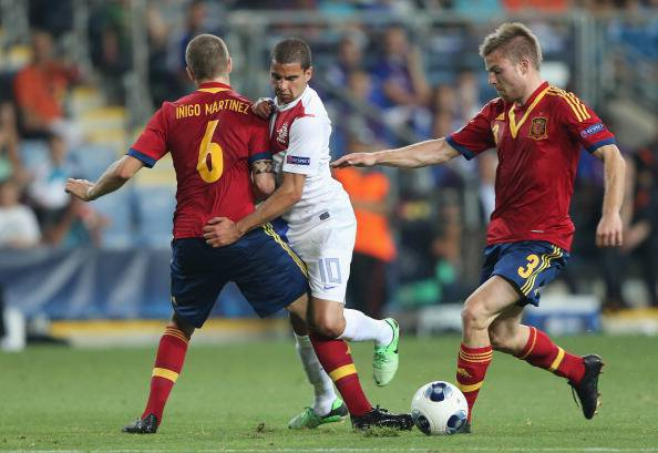 Spain v Netherlands - UEFA European U21 Championships: Group B