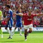 Calcio, vince il Manchester United 3 a 1 contro il Chelsea