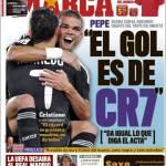 Marca, Il gol è di Cristiano Ronaldo