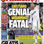 Marca: Cristiano geniale, Mourinho fatale