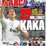 Marca: 25 milioni per Kakà