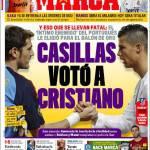 Marca: Casillas votò Cristiano Ronaldo