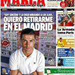 """Marca: """"Voglio ritirarmi nel Real Madrid"""""""