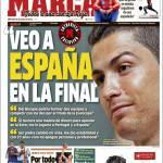 """Marca: """"Vedo la Spagna in finale"""""""