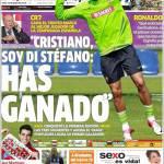 """Marca: """"Cristiano, sono Di Stefano, hai vinto"""""""