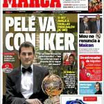 Marca: Pelè sta con Iker