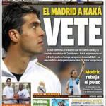 "Marca: Il Real a Kakà ""Vai"""