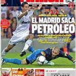 Marca: El Madrid saca petroleo