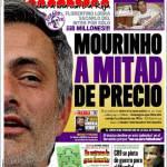 Marca: Mourinho a metà prezzo