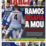 Marca: Ramos sfida Mourinho