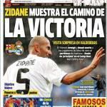 Marca: Zidane mostra la strada del successo