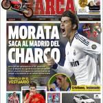 Marca: Morata prende il Real Madrid per mano