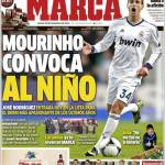 Marca: Mourinho convoca il ragazzino