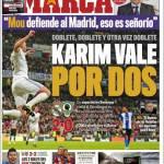 Marca: Karim Benzema vale per 2