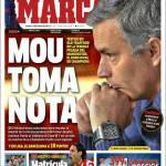 Marca: Mourinho prende nota
