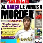 """Marca, Canales: Al Barca le vamos a moder"""""""