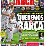 """Marca: """"Vogliamo il Barcellona"""""""