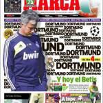 Marca: Mourinho e i suoi giocatori pensano solo al Borussia Dortmund