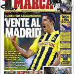"Marca: ""Vieni al Real Madrid"""
