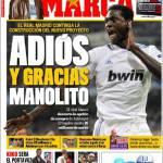 """Marca: Addio e grazie """"Manolito"""""""
