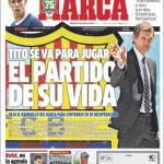 Marca: Tito se ne va per giocare la partita della vita