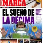 Marca: Real Madrid, il sogno della decima Champions League
