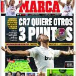Marca: CR7 vuole altri 3 punti