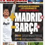 Marca: + Madrid – Barça