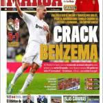 Marca: Crack Benzema