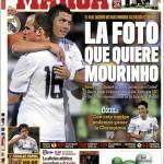 Marca: La foto che sogna Mourinho