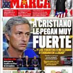 """Marca: Mourinho """"A Cristiano Ronaldo lo bastonano"""""""