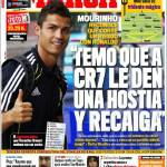 "Marca: Mourinho ""Temo che Ronaldo possa avere una ricaduta"""