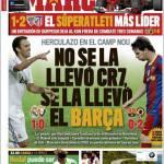 Marca: No se la llevo CR7, se la llevo el Barça