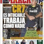 """Marca: """"CR7 es intocable, trabaja como nadie"""""""