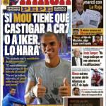 """Marca: Pepe """"Se Mou vuole castigare o Ronaldo o Casillas lo fa senza problemi"""""""