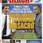 Marca: Allegri vs Mourinho