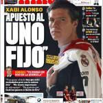 """Marca: Xabi Alonso """"Mi aspetto l'uno fisso"""""""