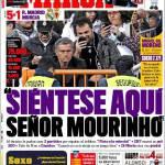 """Marca: """"Sieda qui signor Mourinho"""""""