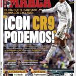 """Marca: """"Con Cristiano Ronaldo possiamo"""""""