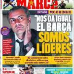 """Marca: Mourinho """"Non ci interessa del Barcellona, siamo leader"""""""