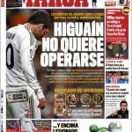 Marca: Higuain non vuole operarsi