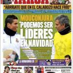 """Marca: Mourinho """"Possiamo ritornare in testa prima di Natale"""""""