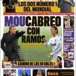 Marca: Rabbia Mourinho contro Ramos