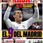 Marca: Il 9 del Real Madrid