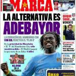 Marca: L'alternativa è Adebayor