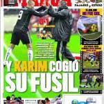 Marca: Karim ha preso il suo fucile